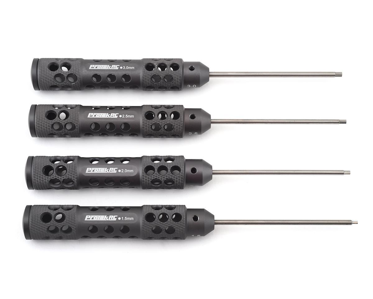 7 piece INTC22346 Integy Wrench Set Ti-Nitride Hex