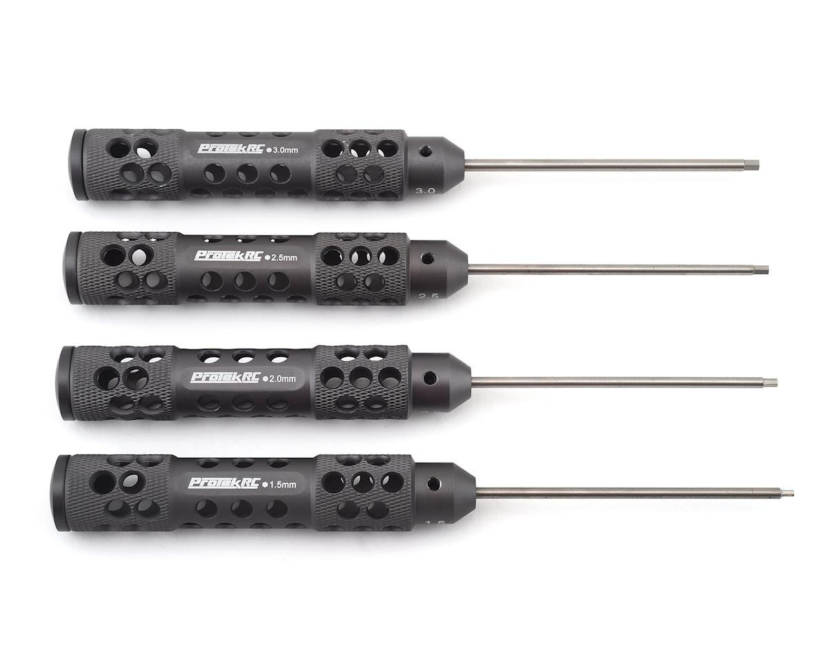 "ProTek RC ""TruTorque SL"" Metric Hex Driver Set (4) 