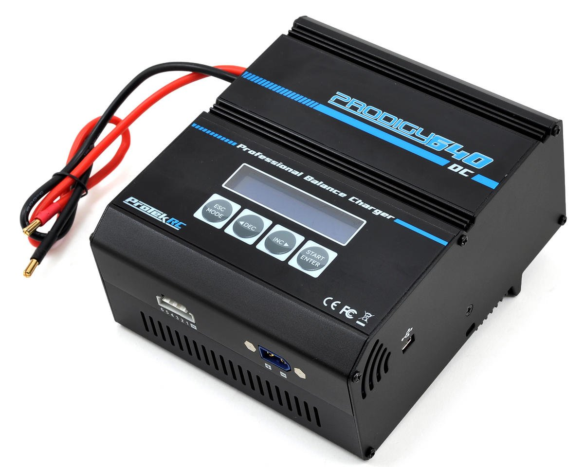 SCRATCH & DENT: ProTek RC Prodigy 640 High Power LiPo/LiFe DC Battery Charger (6S/40A/1000W)