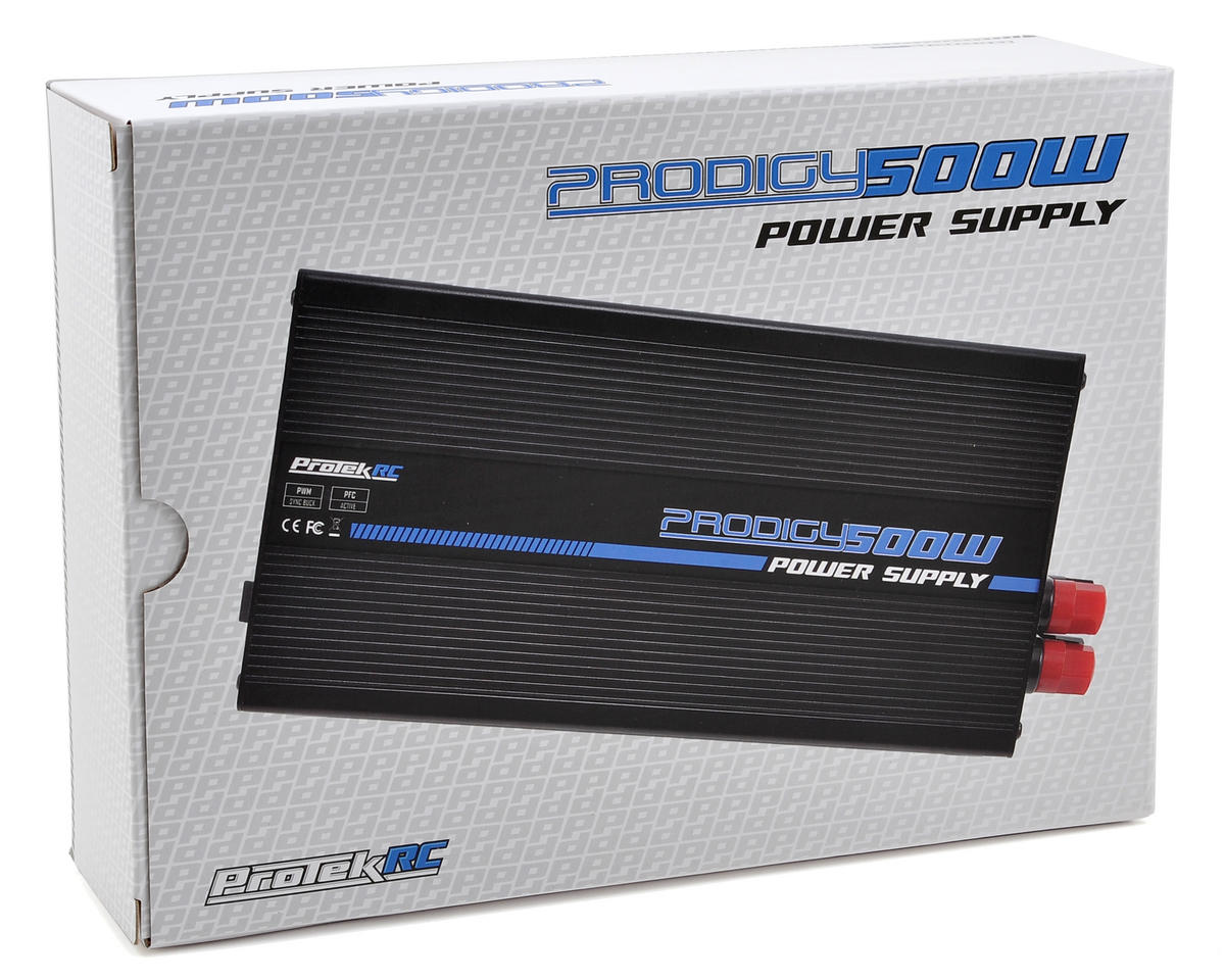 "ProTek RC ""Prodigy 500W"" Power Supply (15V/33A/495W)"