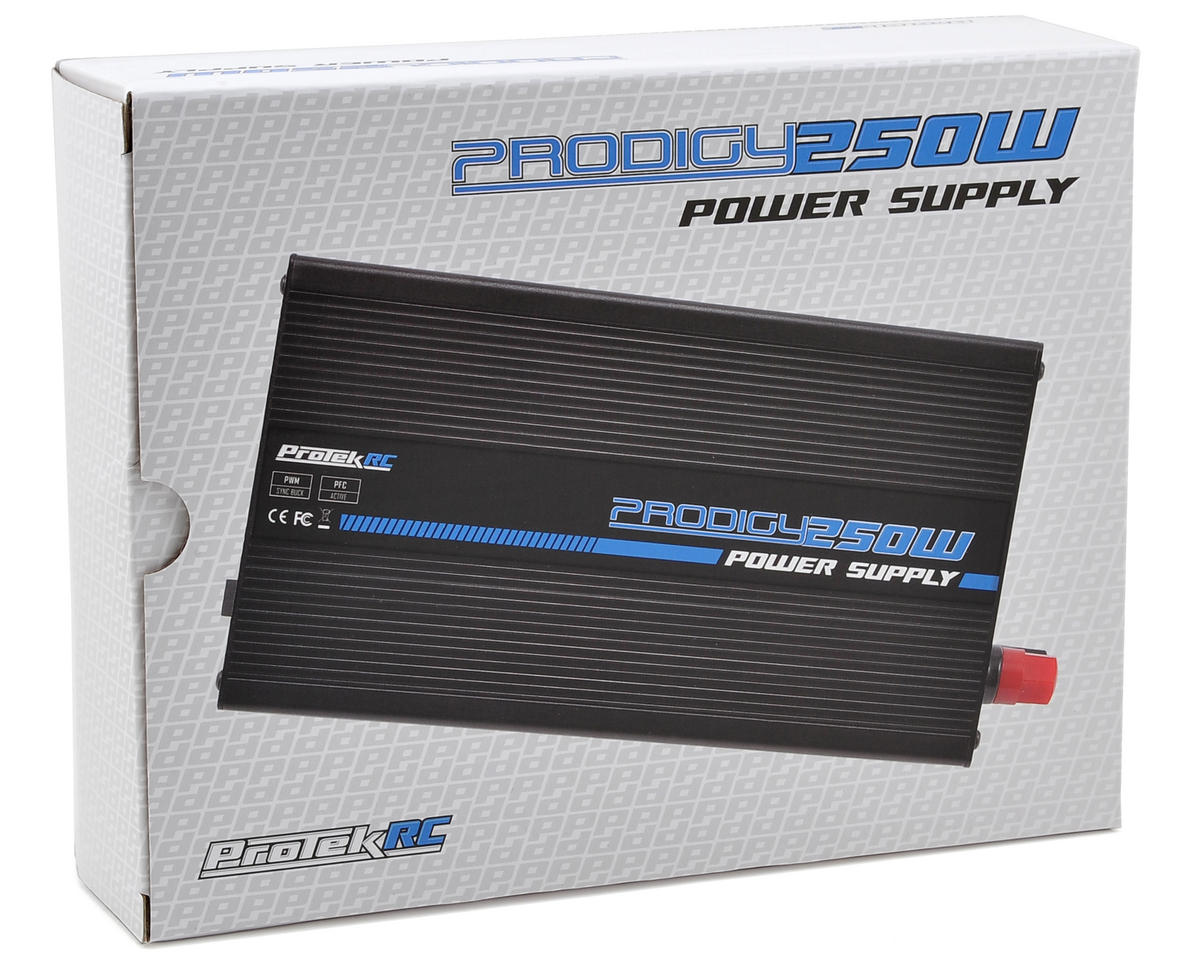 "ProTek RC ""Prodigy 250W"" Power Supply (15V/16.5A/247W)"