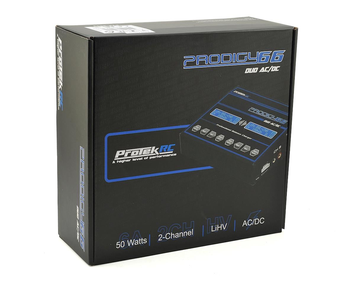 "ProTek RC ""Prodigy 66 Duo AC/DC"" LiHV/LiPo Battery Balance Charger (6S/6A/50W)"