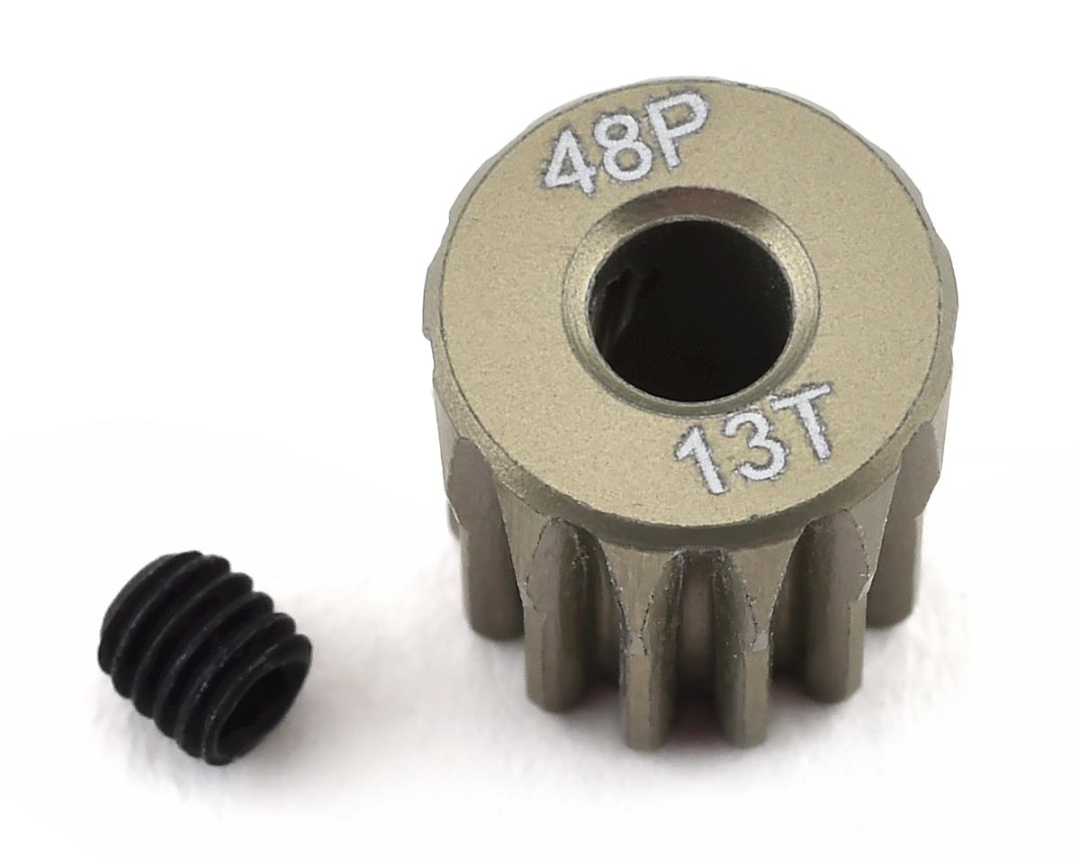 ProTek RC 48P Lightweight Hard Anodized Aluminum Pinion Gear (3.17mm Bore) (13T)