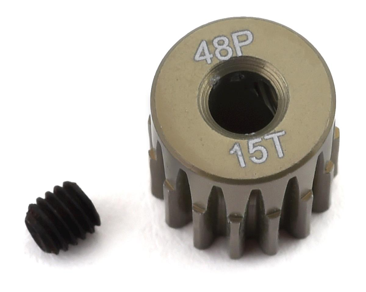 ProTek RC 48P Lightweight Hard Anodized Aluminum Pinion Gear (3.17mm Bore) (15T) | alsopurchased