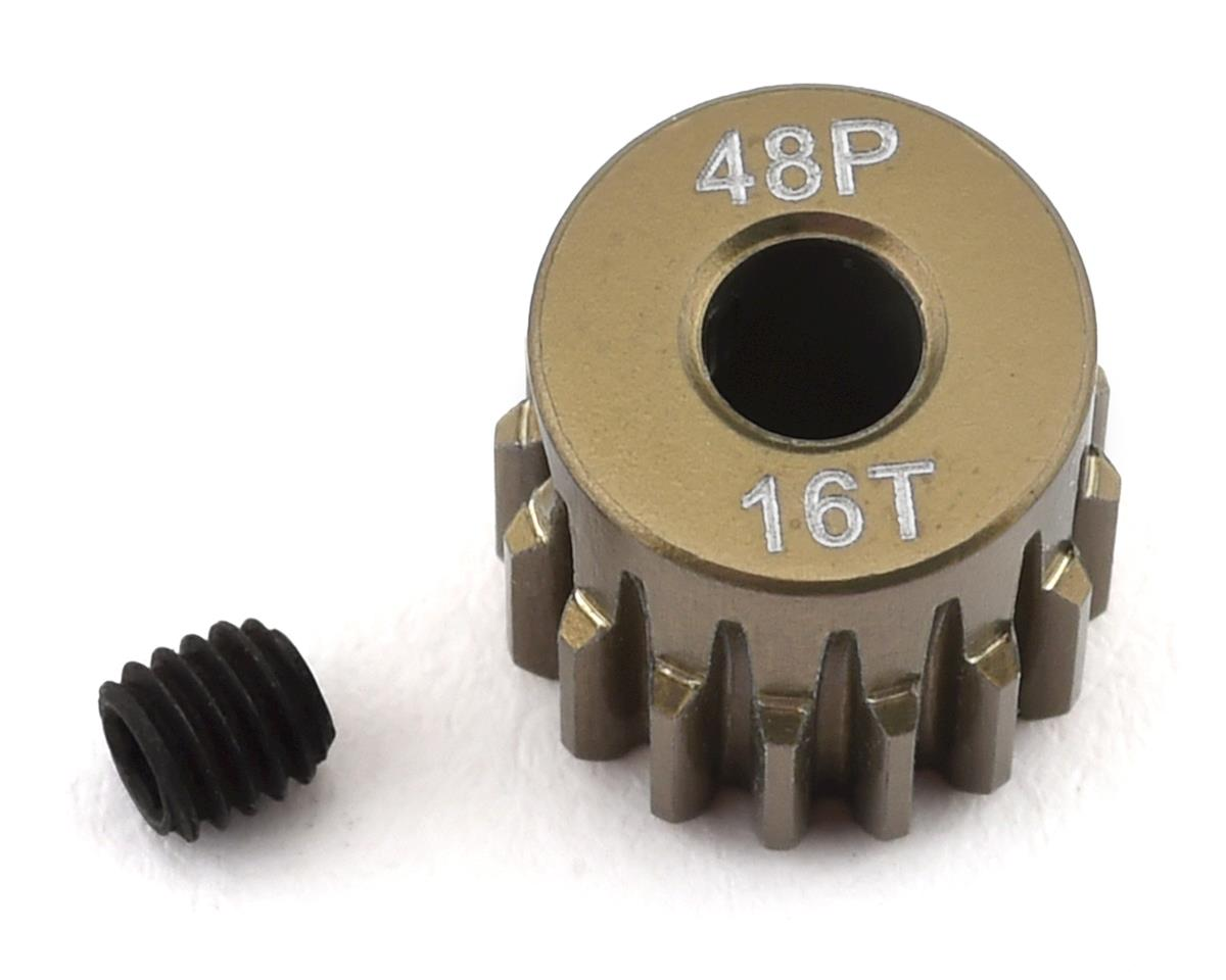 ProTek RC 48P Lightweight Hard Anodized Aluminum Pinion Gear (3.17mm Bore) (16T)   alsopurchased