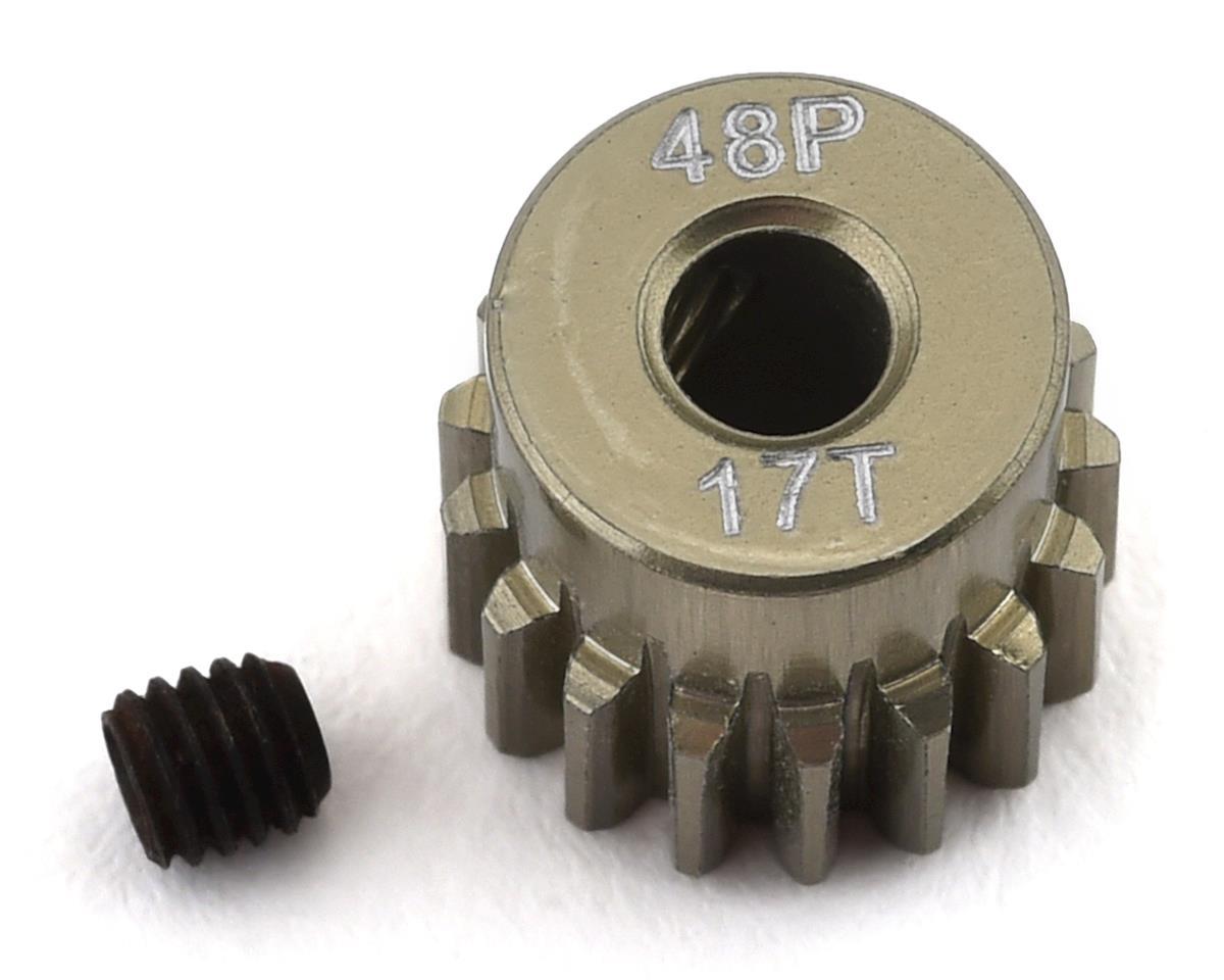 ProTek RC 48P Lightweight Hard Anodized Aluminum Pinion Gear (3.17mm Bore) (17T)