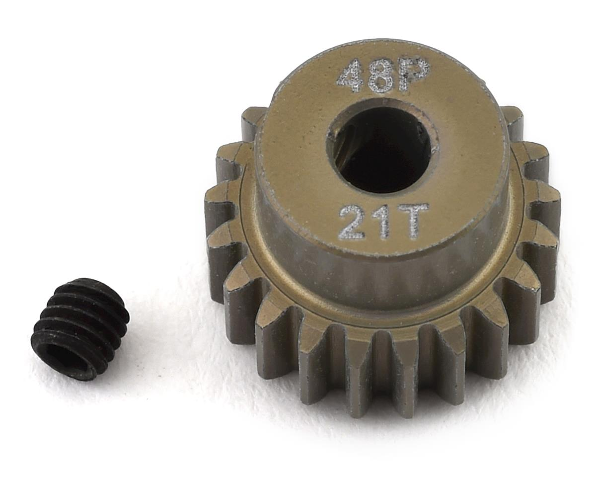 ProTek RC 48P Lightweight Hard Anodized Aluminum Pinion Gear (3.17mm Bore) (21T)