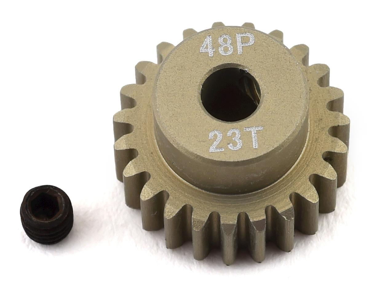 ProTek RC 48P Lightweight Hard Anodized Aluminum Pinion Gear (3.17mm Bore) (23T)