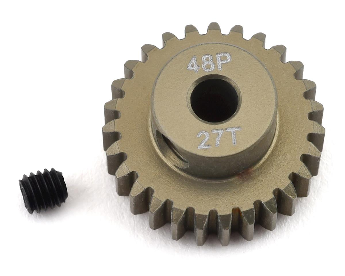ProTek RC 48P Lightweight Hard Anodized Aluminum Pinion Gear (3.17mm Bore) (27T)   alsopurchased