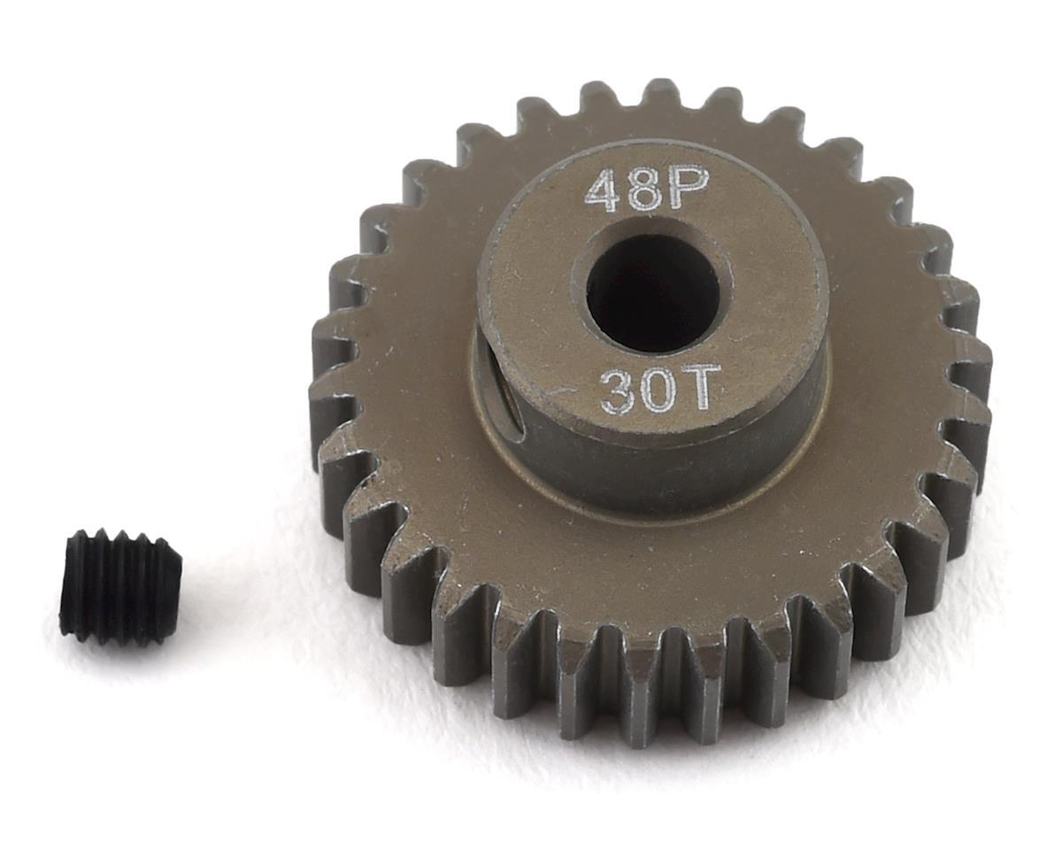 ProTek RC 48P Lightweight Hard Anodized Aluminum Pinion Gear (3.17mm Bore) (30T)