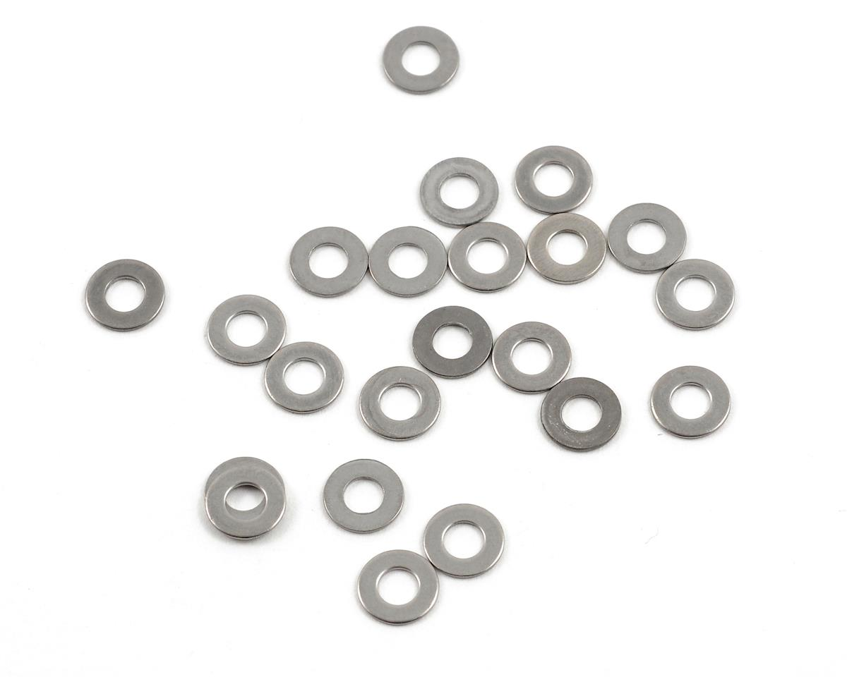 "3mm ""High Strength"" Stainless Steel Washers (20) by ProTek RC"