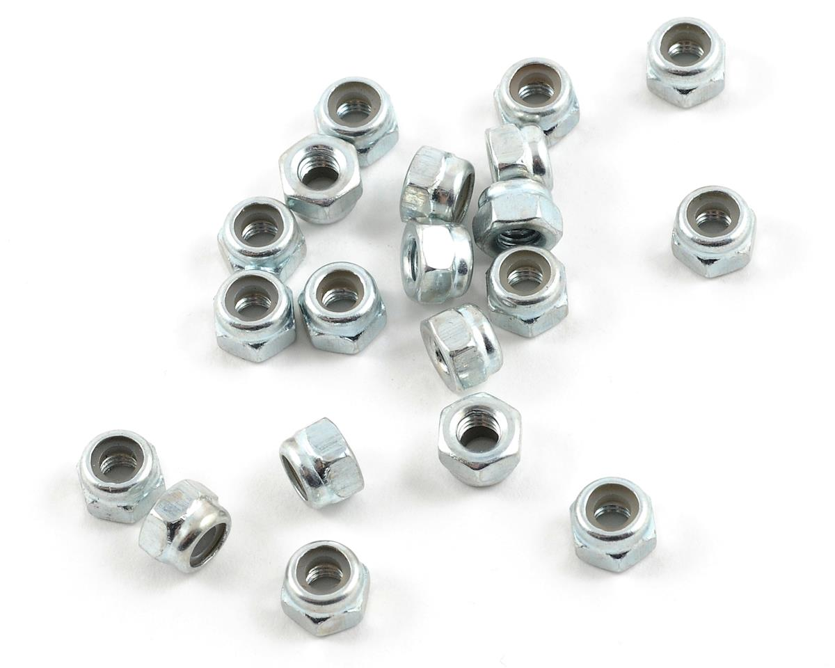 "4mm ""High Strength"" Nylon Locknut (20) by ProTek RC"
