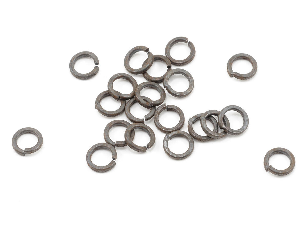 "ProTek RC #10 ""High Strength"" Black Steel Lock Washers (20)"