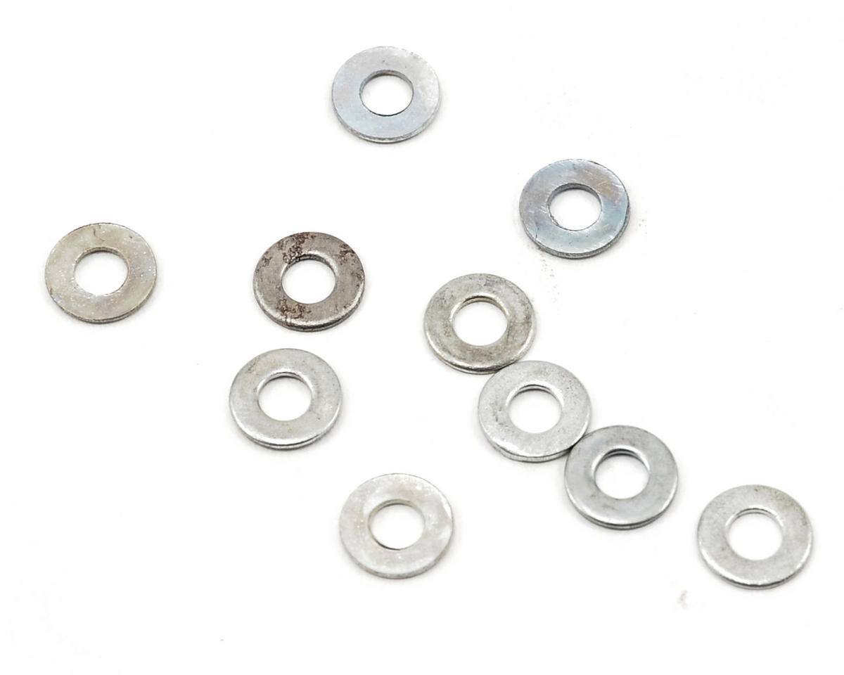 2.6x6x0.5mm Shock Piston Washer (10) by ProTek RC