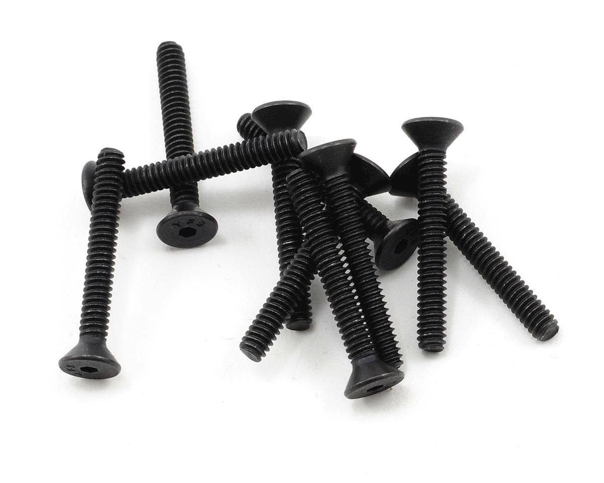 "ProTek RC 4-40 x 7/8"" ""High Strength"" Flat Head Screws (10)"