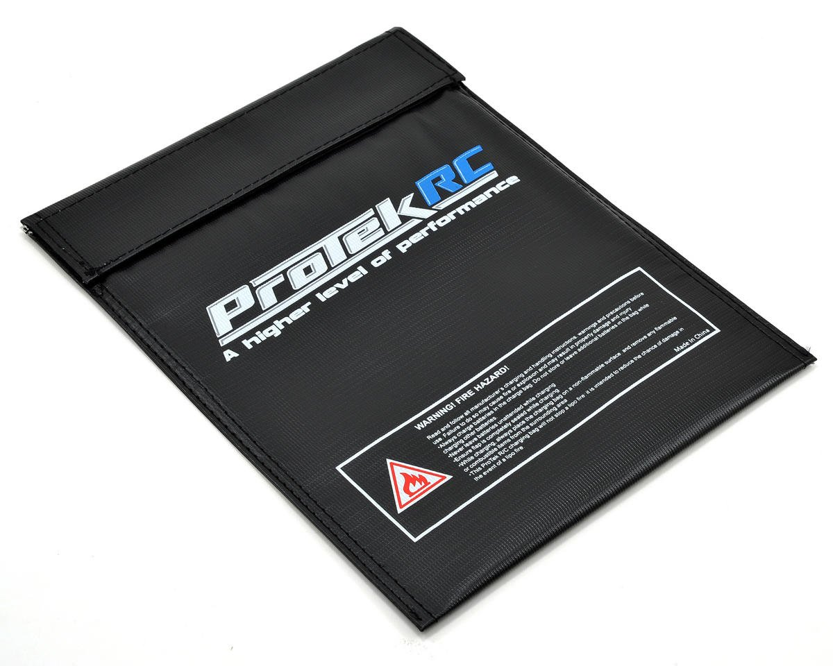 ProTek RC Flame Resistant LiPo Charging Bag (Large, 23x30cm)