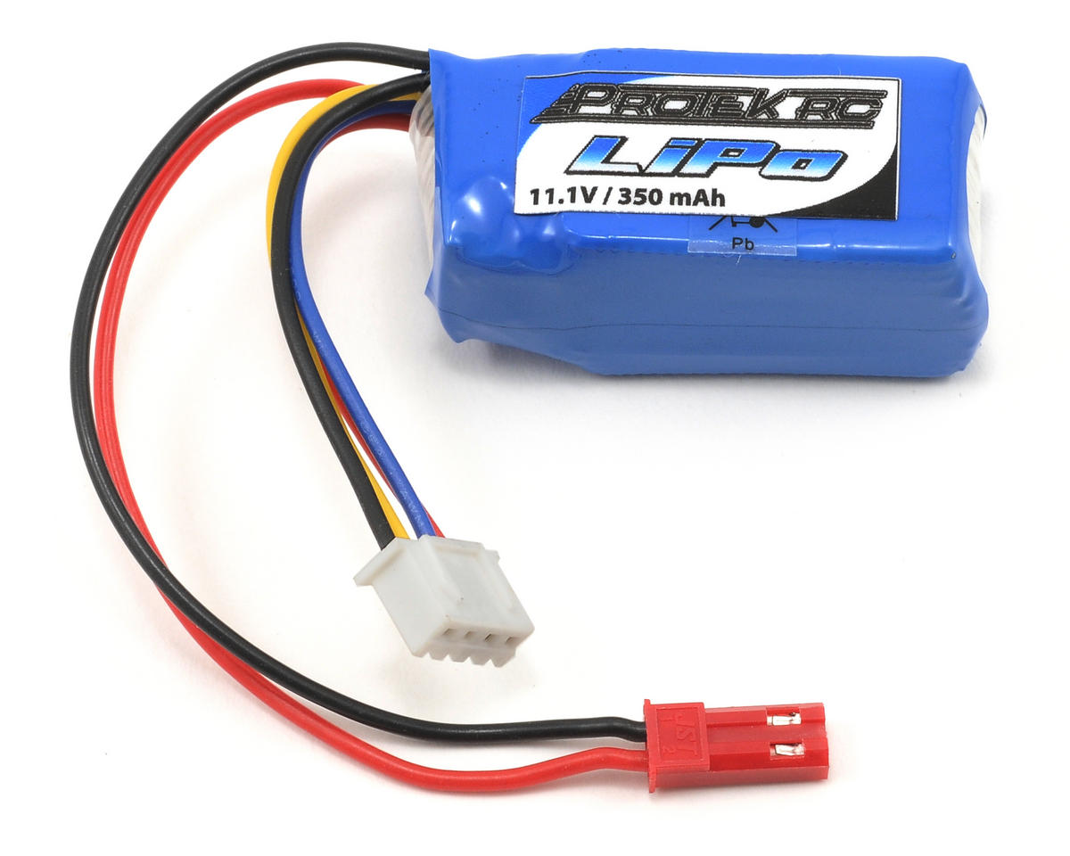 ProTek RC 3S Li-Poly 20C Battery Pack (11.1V/350mAh)