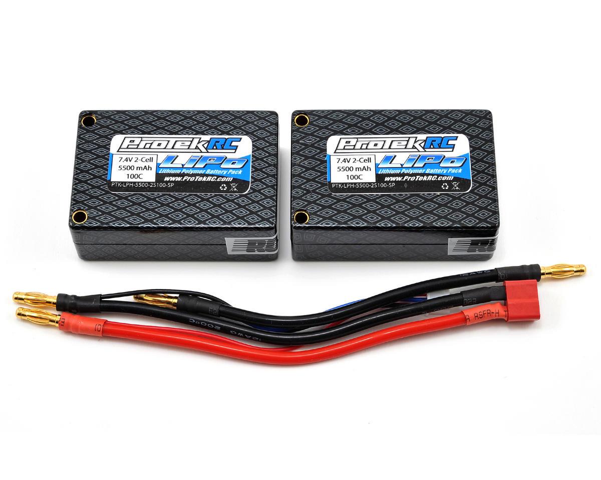 "ProTek RC 2S ""Supreme Power"" Li-Poly 100C Hard Case Saddle Battery (7.4V/5500mAh)"