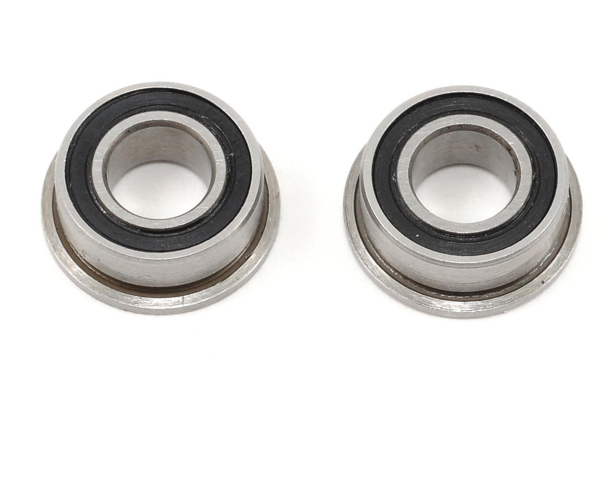 "ProTek RC 5x10x4mm Ceramic Rubber Sealed Flanged ""Speed"" Bearing (2)"