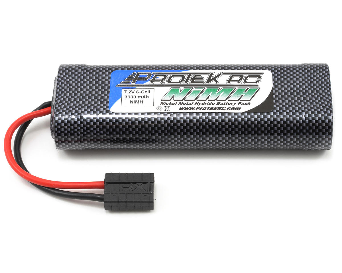 "ProTek RC 6-Cell 7.2V NiMH ""Speed"" Intellect Battery Pack w/Traxxas Connector (IB3000)"