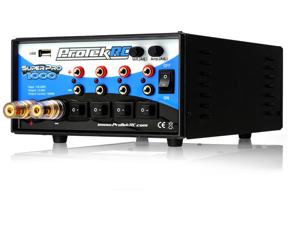 Protek Rc Super Pro 1000 Five Output World Edition Power Supply W Amplifier Extreme V 480 Xii Usb Port 30v 40a 1000w Ptk Sp Cars Trucks Amain Hobbies