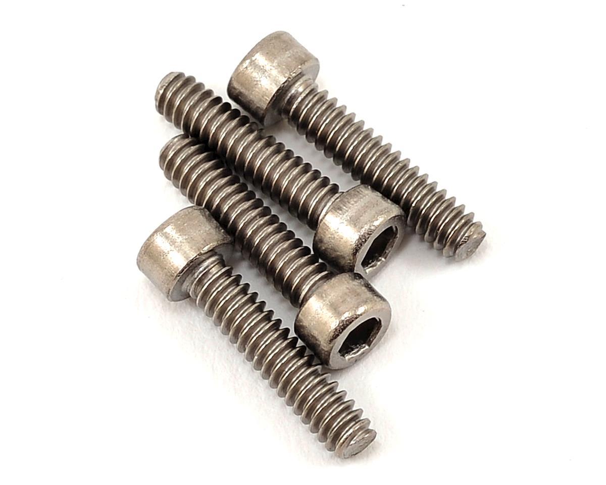 """4-40 x 1/2"""" Titanium Cap Head Hex Screw (4) by ProTek RC"""