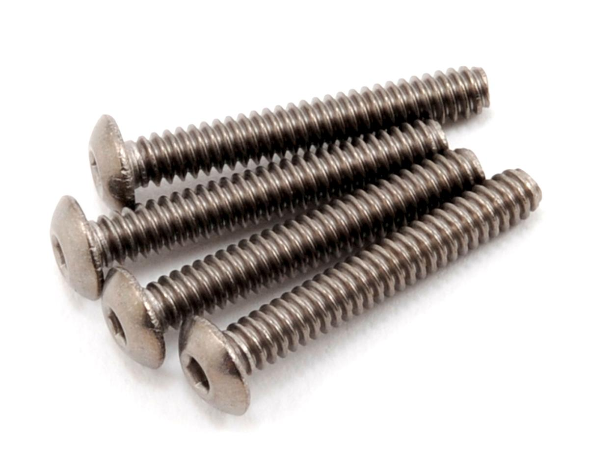 "ProTek RC 4-40 x 3/4"" Titanium Button Head Hex Screw (4)"