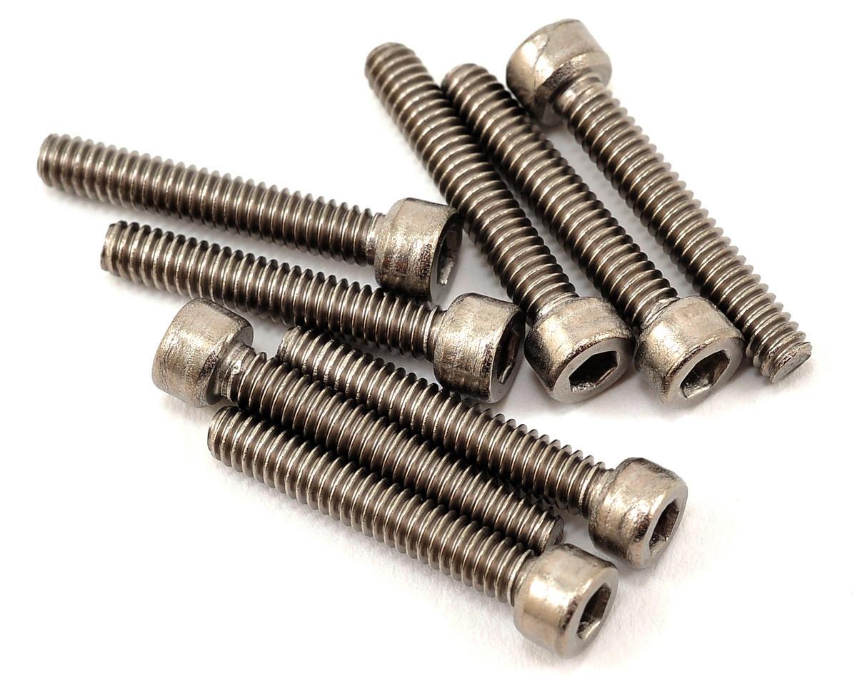 """ProTek RC 5-40 x 3/4"""" Titanium Cap Head Hex Screw (8)"""