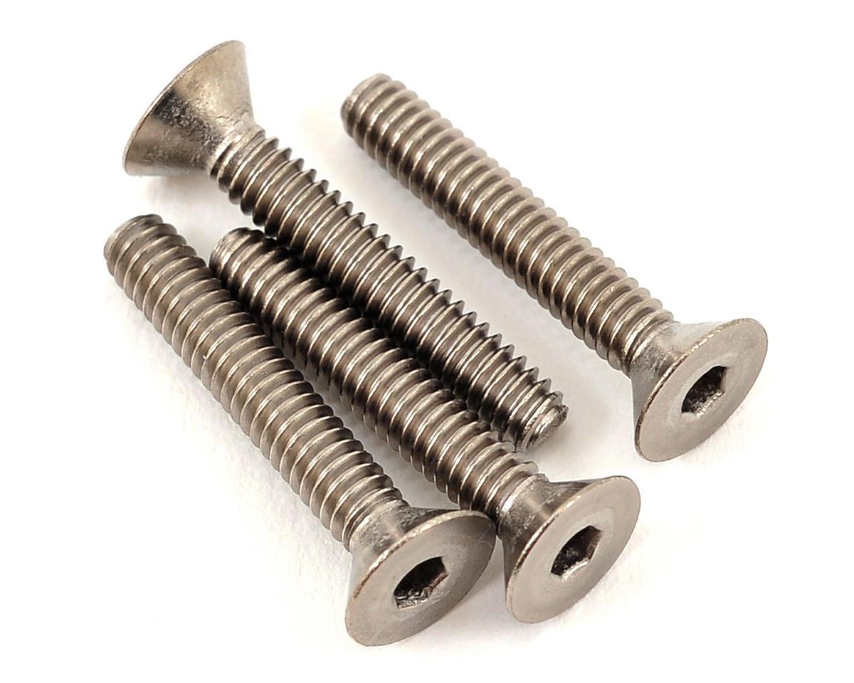 "ProTek RC 5-40 x 3/4"" Titanium Flat Head Hex Screw (4)"