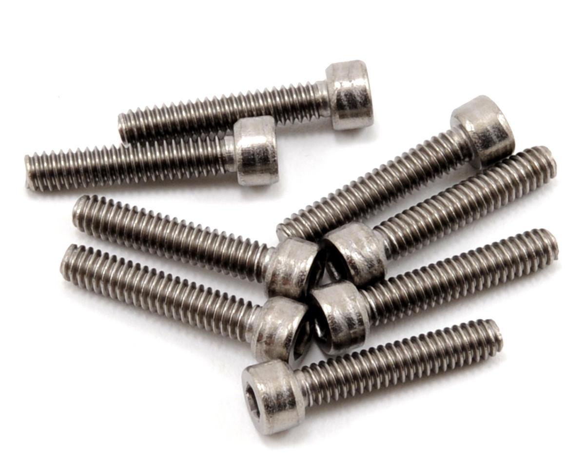 """ProTek RC 5-40 x 5/8"""" Titanium Cap Head Hex Screw (8)"""