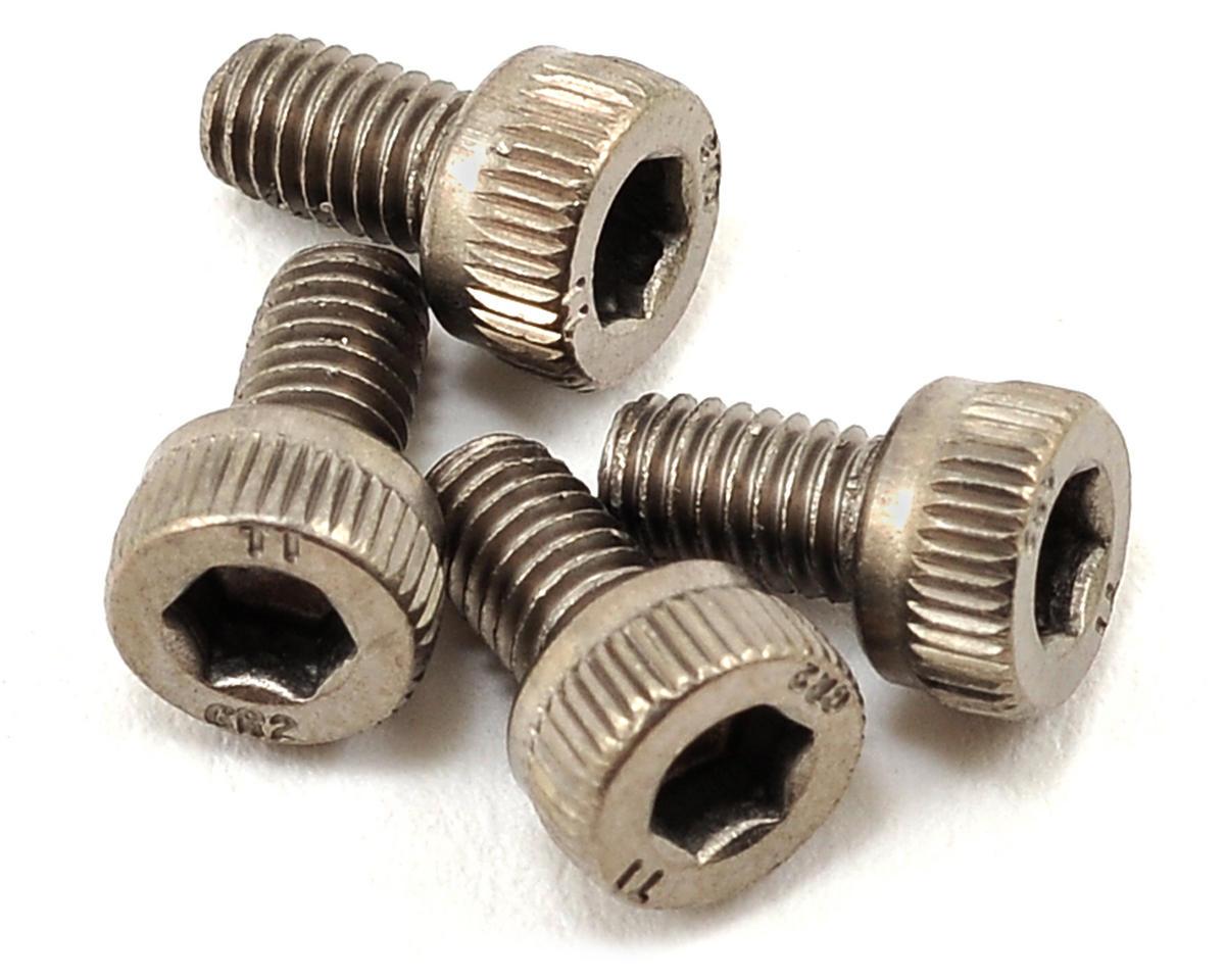 ProTek RC 3x5mm Titanium Cap Head Hex Screw (4)