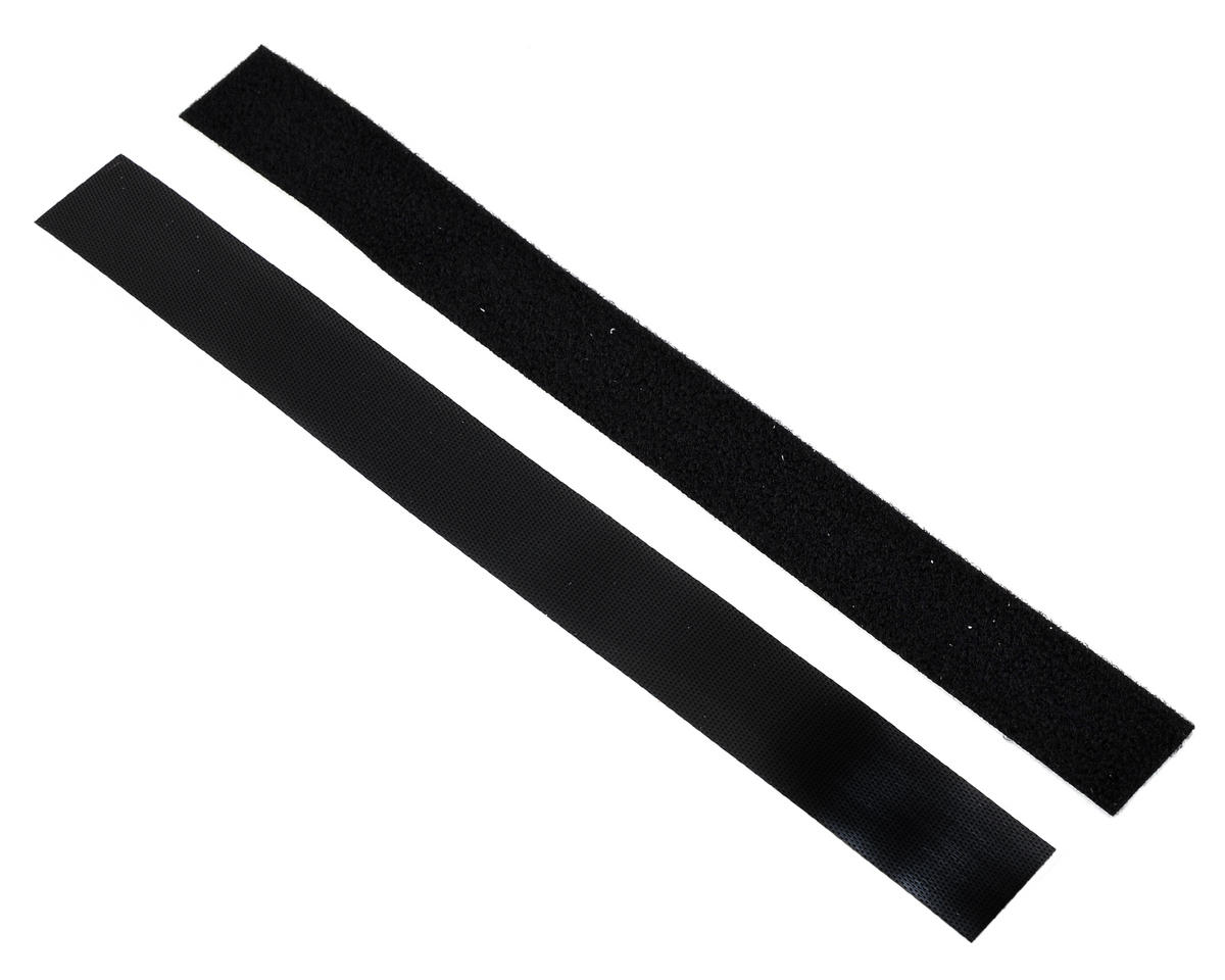 Super Stick Low Profile Hook & Loop Strap Set (Black) (1 Hook/1 Loop)
