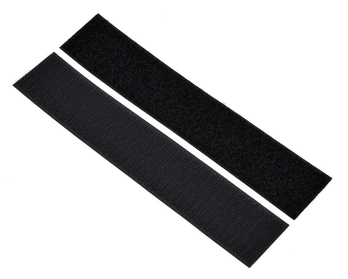 "Pure-Tech 1 1/2"" Super Stick Velcro Strap Set (Black) (1 Hook/1 Loop)"
