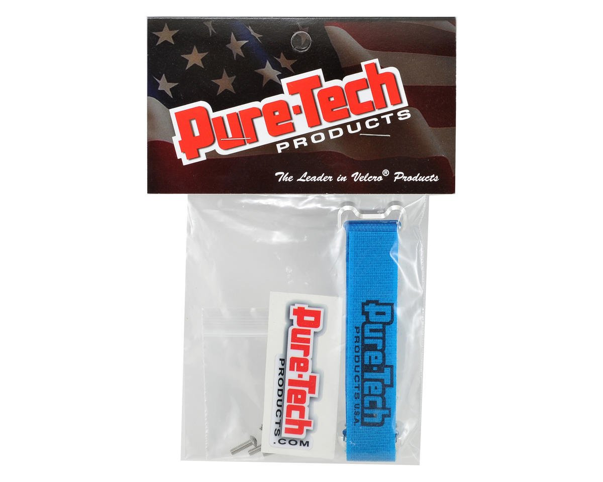 "Pure-Tech Xtreme 4"" Aluminum Block Strap (Blue)"