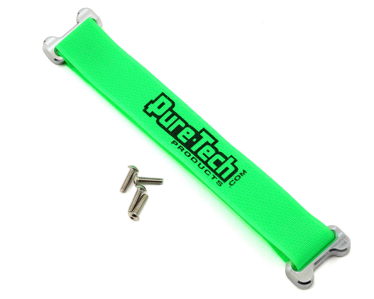 "Pure-Tech Xtreme 6"" Aluminum Block Strap (Neon Green)"