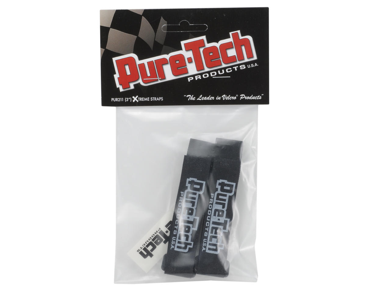 "Pure-Tech 3"" Xtreme Strap (Black)"