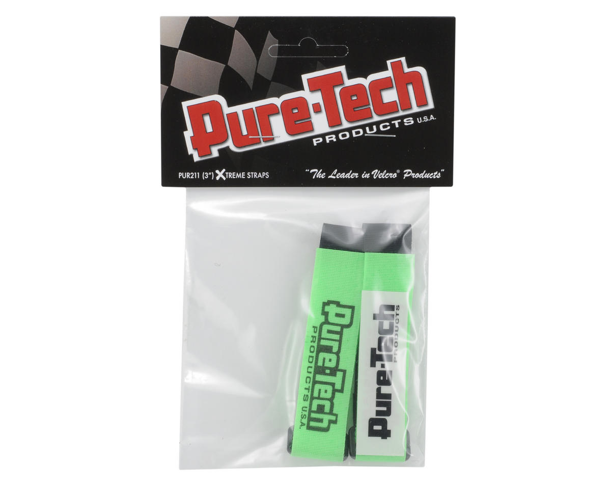 "Pure-Tech 3"" Xtreme Strap (Neon Green)"