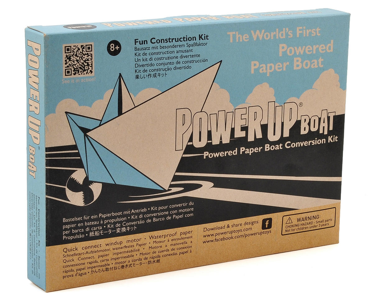 Paper Boat Conversion Kit by PowerUp