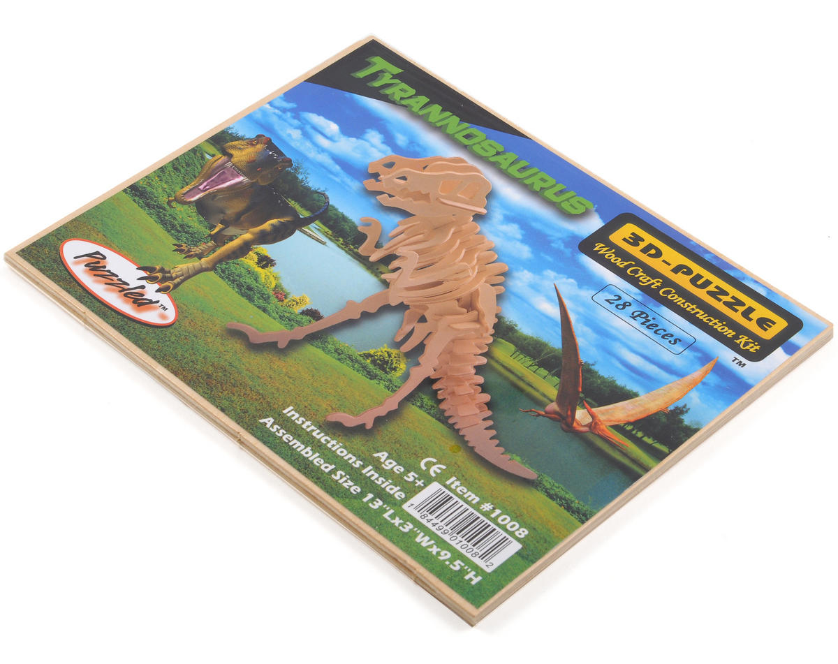 Tyrannosaurus 3D Puzzle by Puzzled