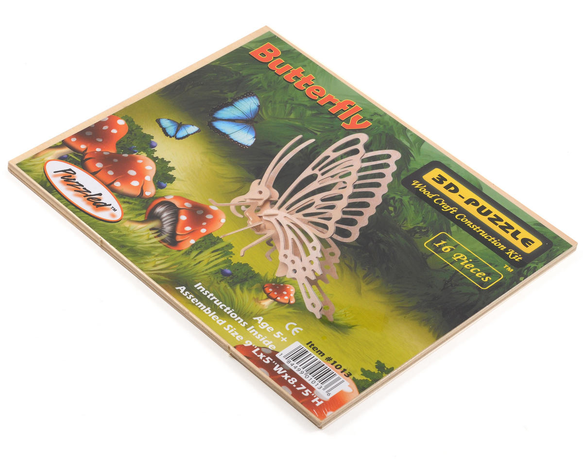 Little Butterfly 3D Puzzle by Puzzled