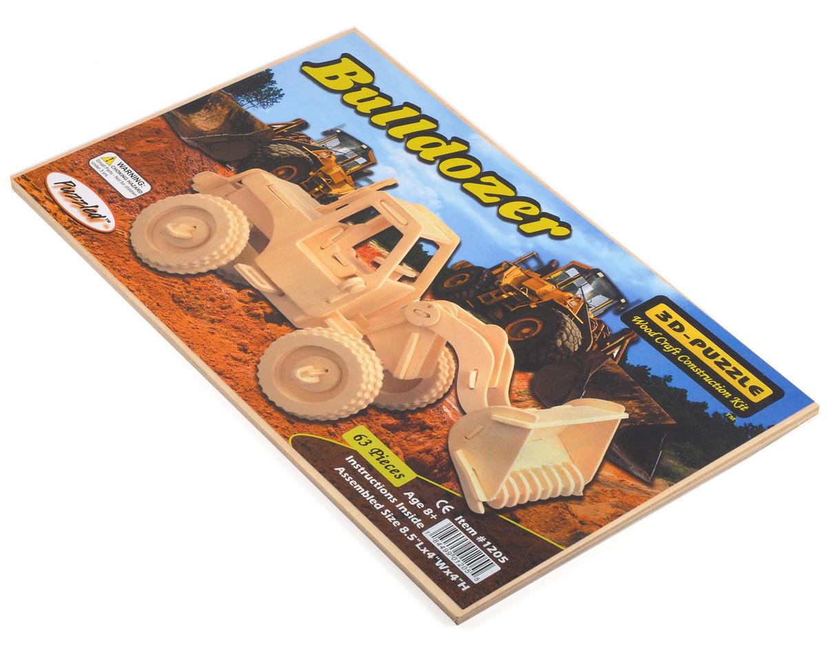 Puzzled Bulldozer 3D Puzzle