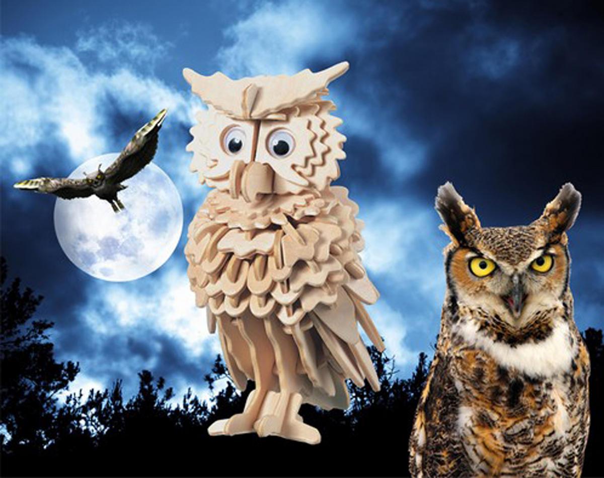 Owl 3D Puzzle