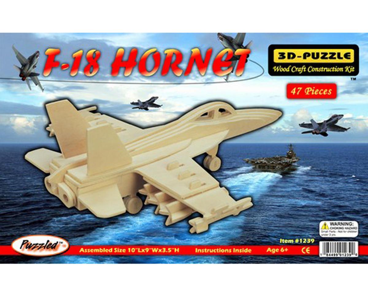 Puzzled F-18 Hornet 3D Puzzle