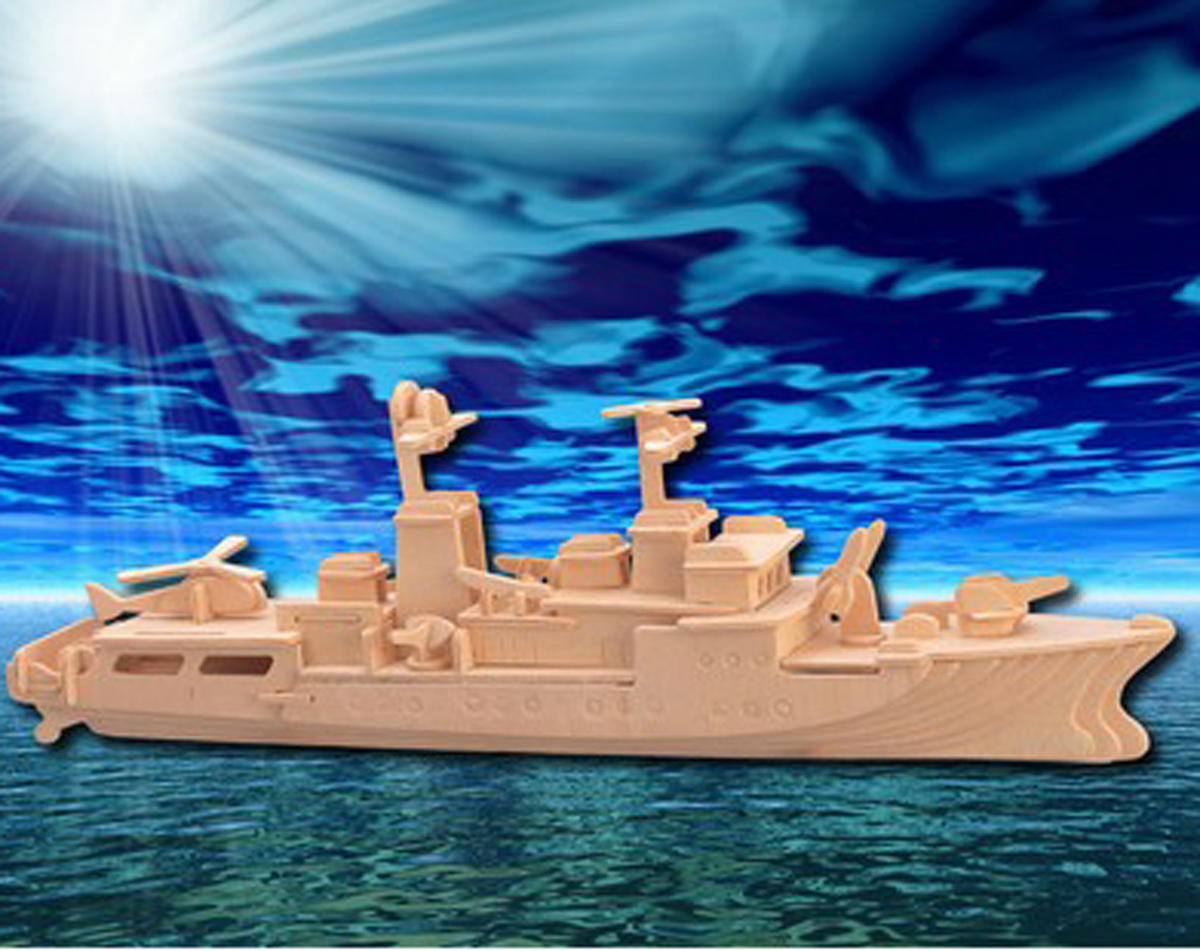 Puzzled Destroyer 3D Puzzle