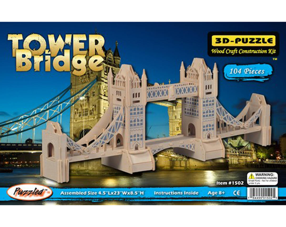 Tower Bridge 3D Puzzle by Puzzled