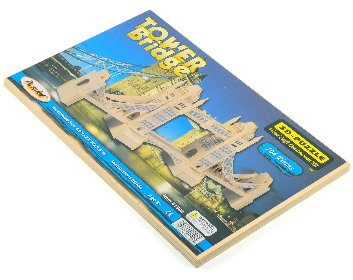 Puzzled Tower Bridge 3D Puzzle