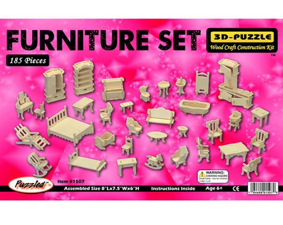 Puzzled Furniture Set 3D Puzzle
