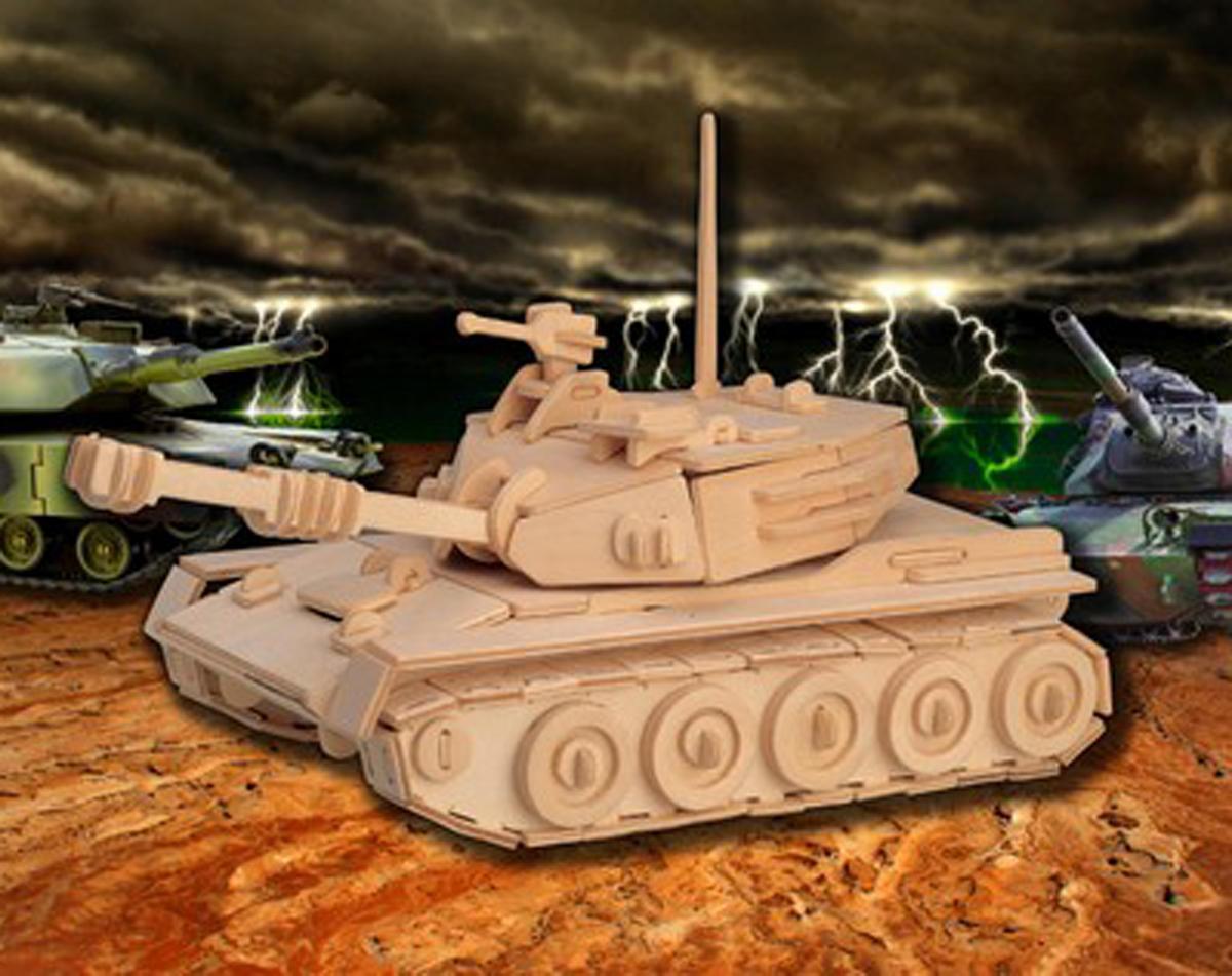 Puzzled Tank 3D Puzzle
