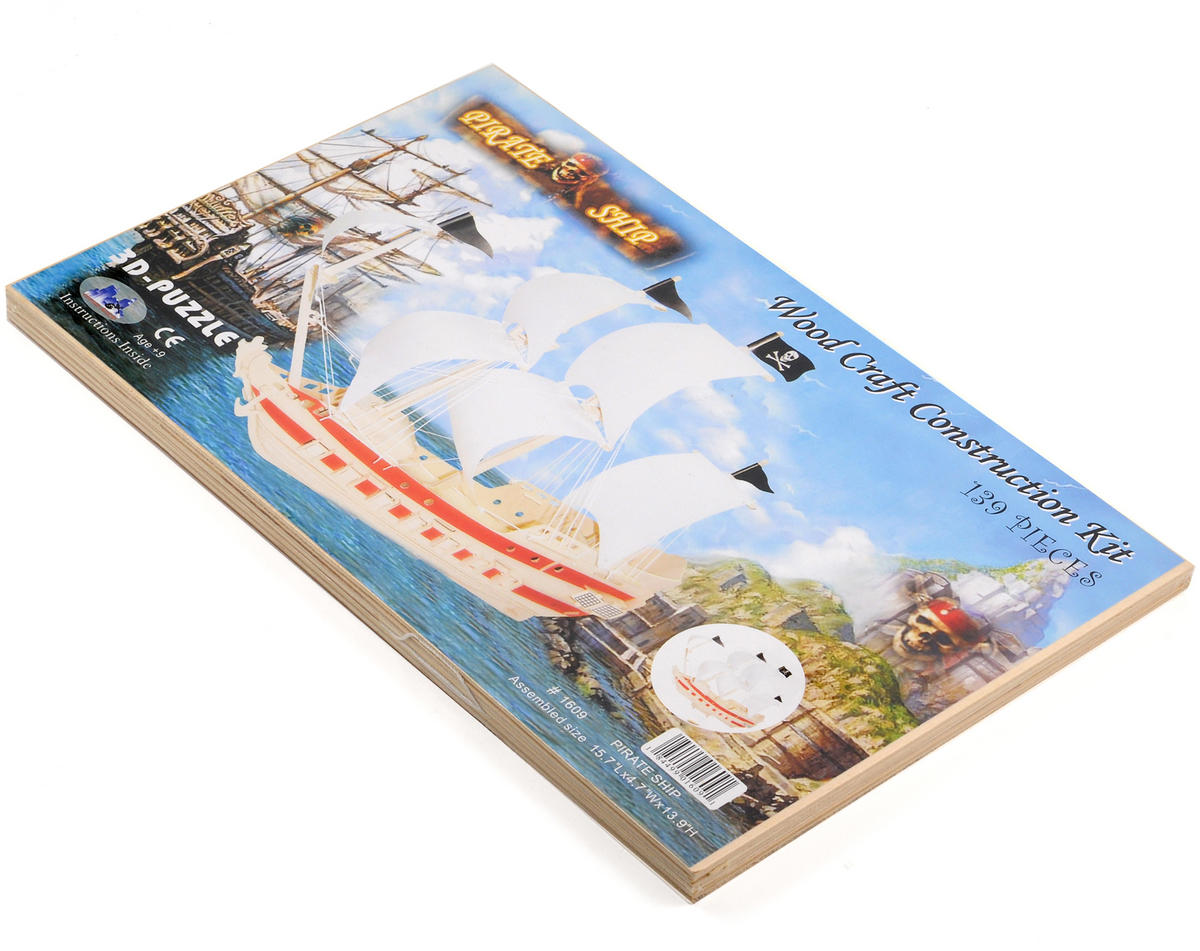 Puzzled Pirate Ship 3D Puzzle