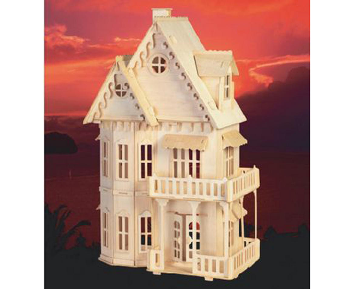 Puzzled Gothic House 3D Puzzle